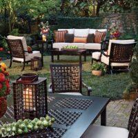 patio set aspen