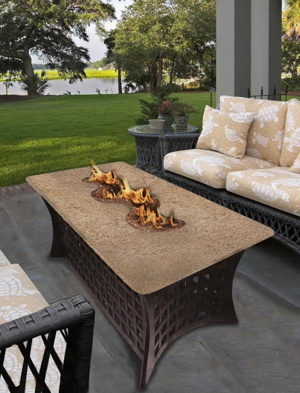 fire table basalt
