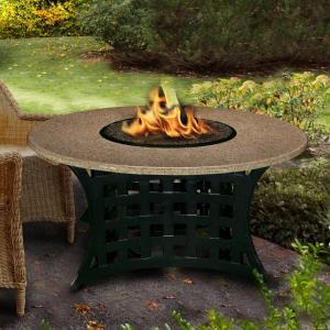 small fire table