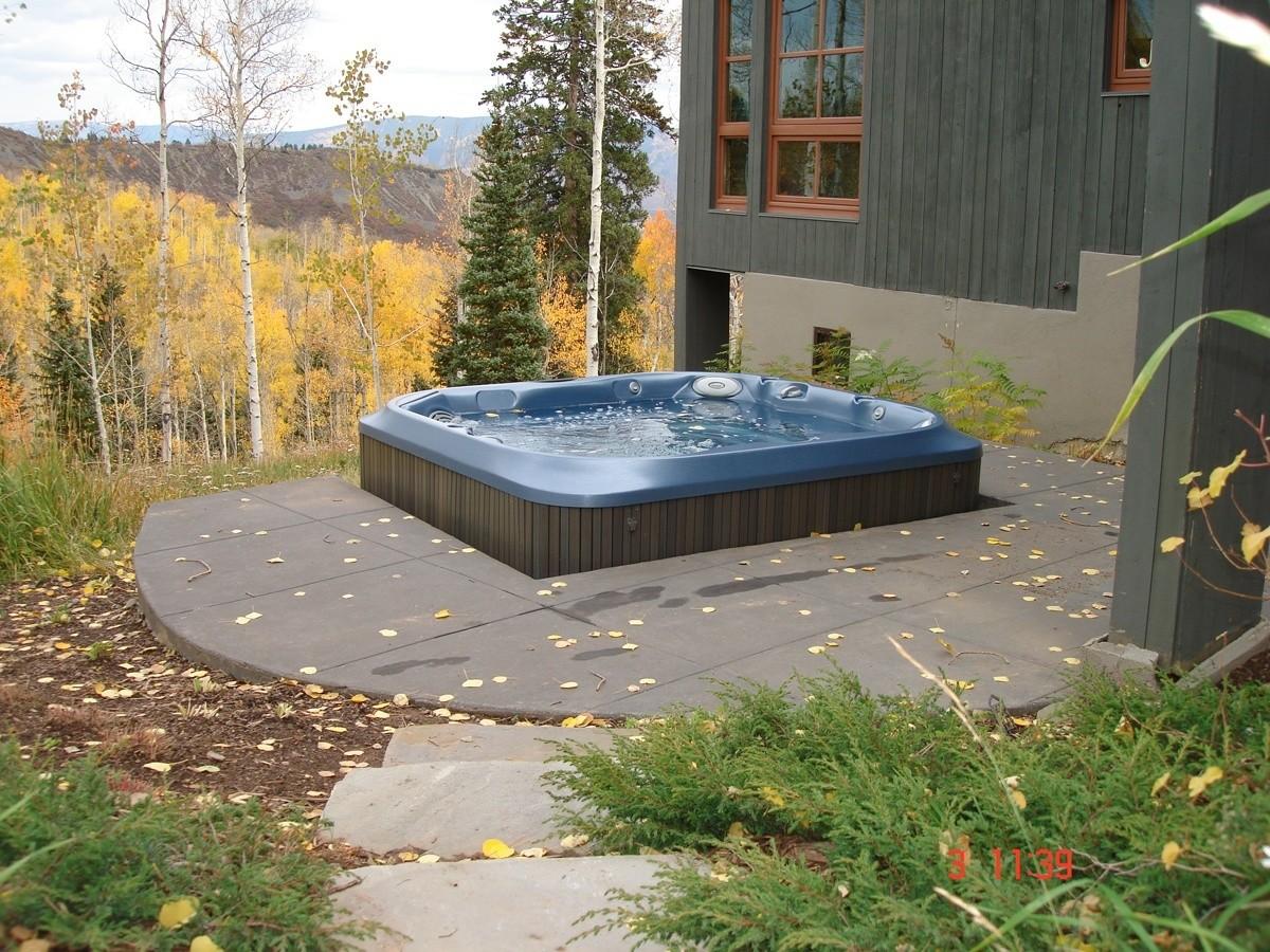 Aspen Custom Spa Installation