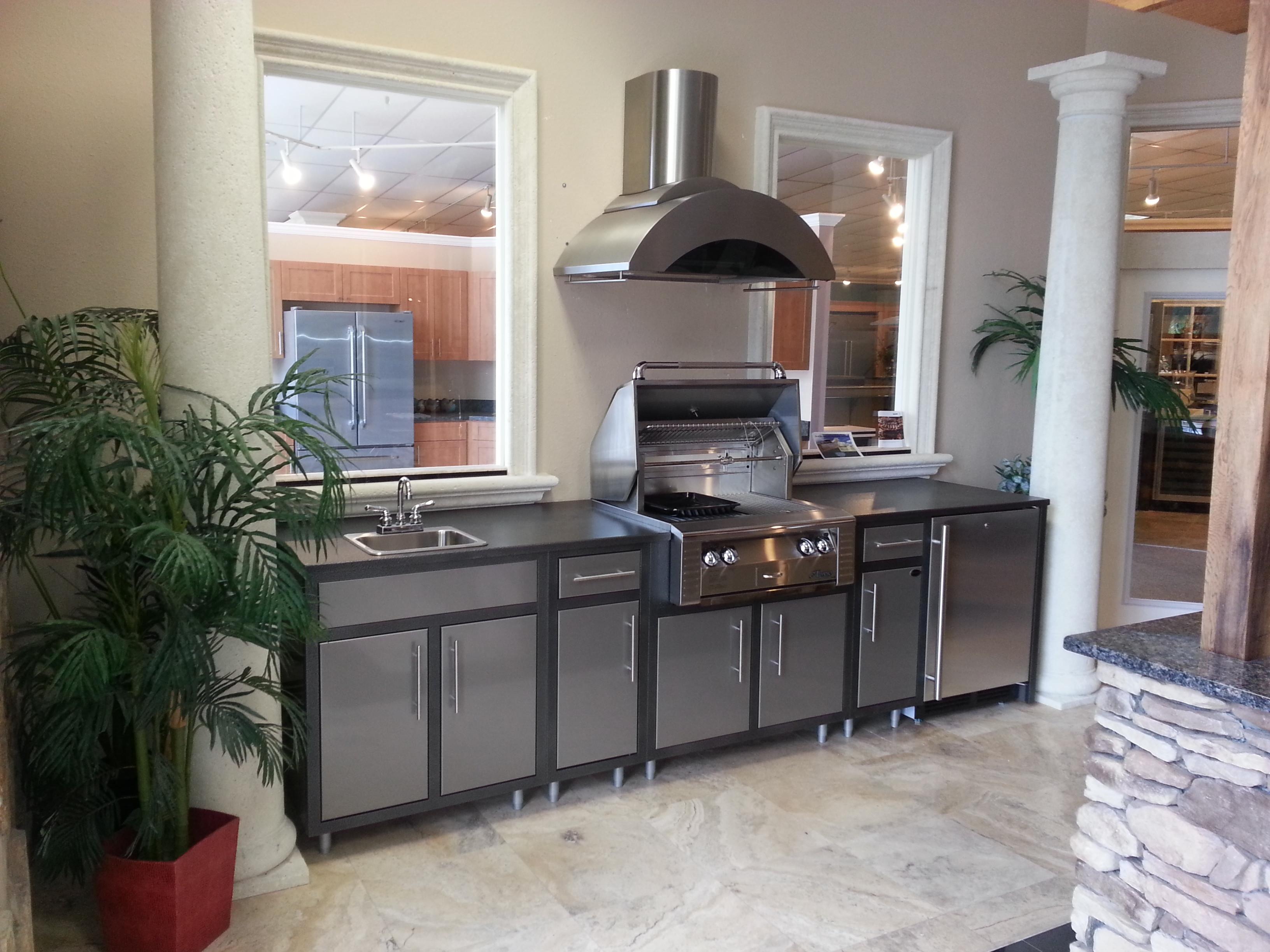 Challenger Designs Modular Outdoor Kitchen Ajax Pool